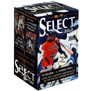 Panini 2020 Select Baseball Blaster Box